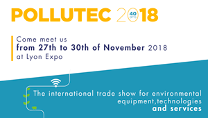 ATS will exhibit at Pollutec 2018 in Lyon